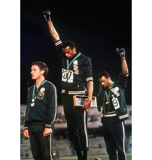 Black salute 1968 Olympics