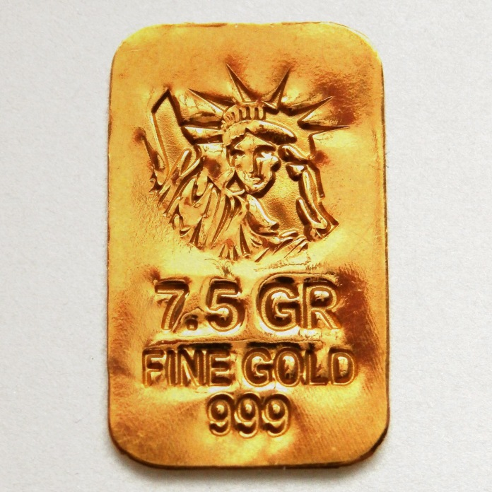 999 Gold Lady of Liberty